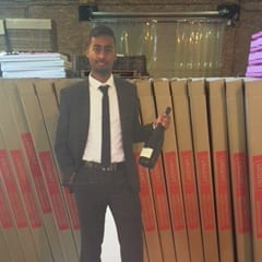 Personalised Cardboard Cutout