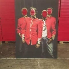 Promotional cardboard cutouts for business