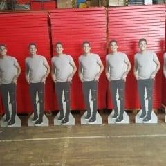 Promotional cardboard cutouts Geordie Shore MTV