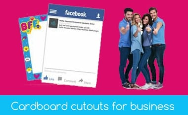 Cardboard Cutouts for business