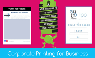Corporate Printing for Business