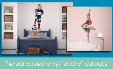 Personalised Vinyl Cutouts