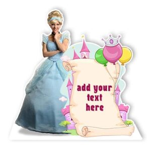 Princess party cardboard cutout