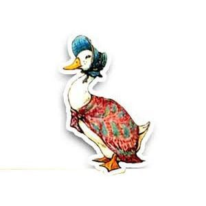 Jemima Puddle Duck Cardboard cutout