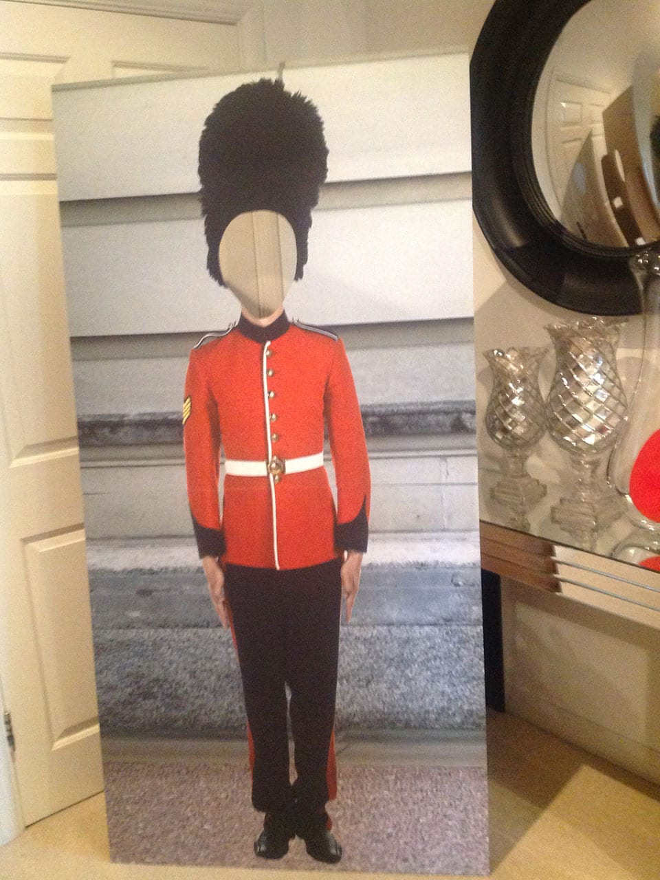 Personalised cardboard cutouts for business, marketing stands, promotional stands