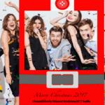 Xmas selfie banner