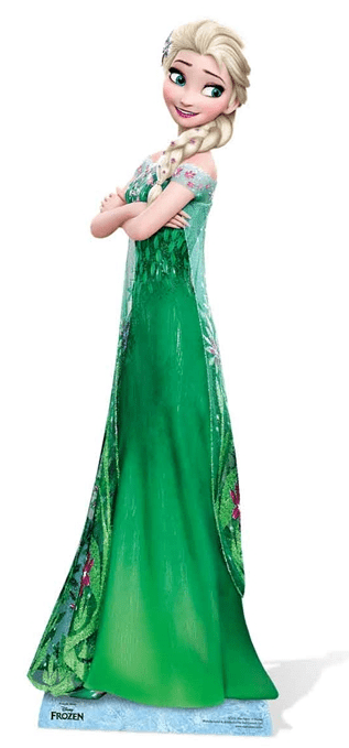 Elsa Frozen Fever Cutout
