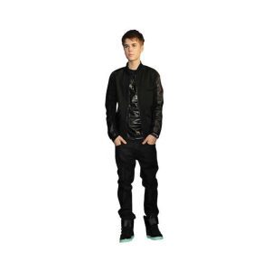 Justin Bieber celebrity cutout