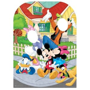Mickey Mouse stand in cutout