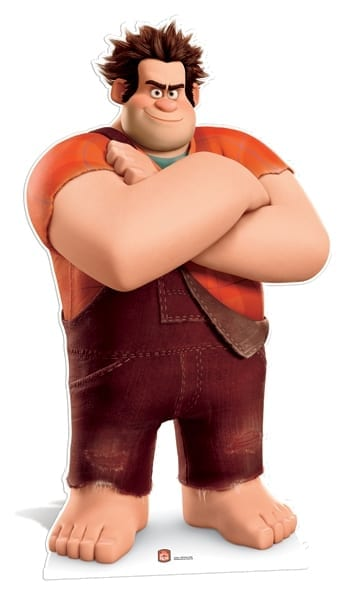 Wreck it Ralph cutout