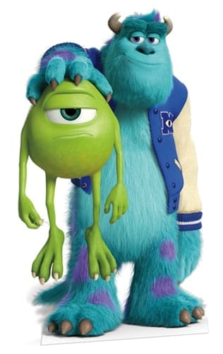 Mike and Sulley Cutout