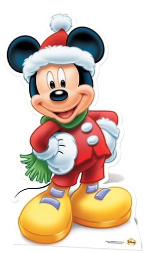 Mickey Mouse cutout