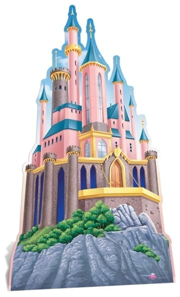 Disney Princess Castle cutout