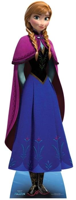 Elsa character cutout