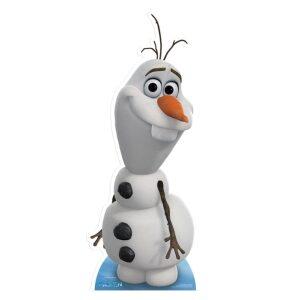 Olaf character cutout