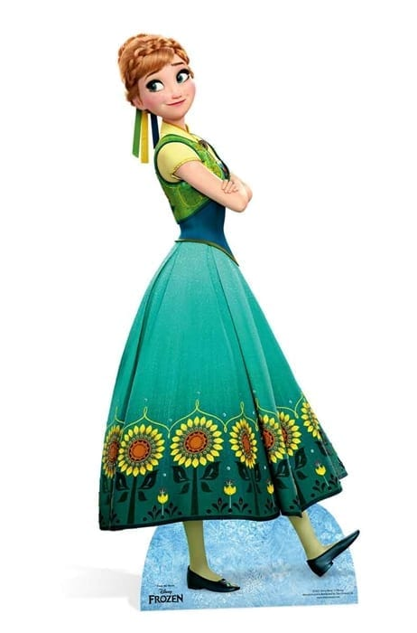 Anna Frozen Fever Cutout