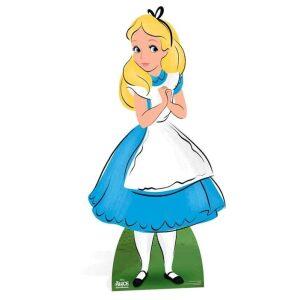 Alice in Wonderland cutout