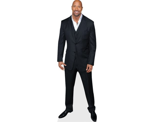 Dwayne Johnson Cutout