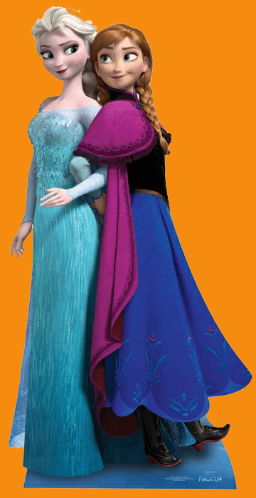 Frozen cutout