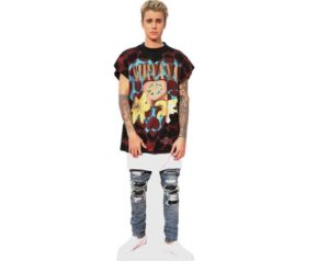 Justin Bieber cutout