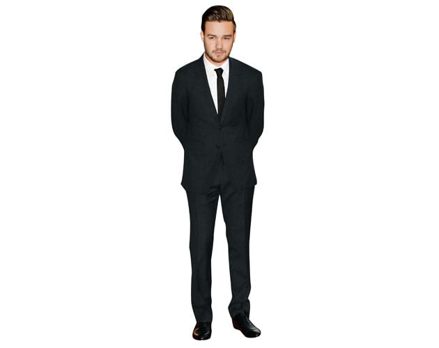 Liam Payne celebrity cutout