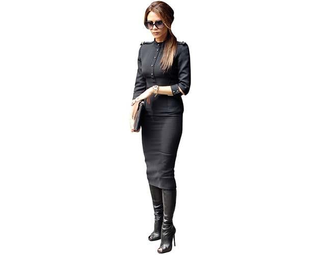 Victoria Beckham cutout
