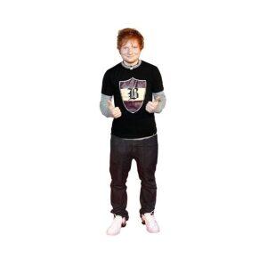 Ed Sheeran cutout