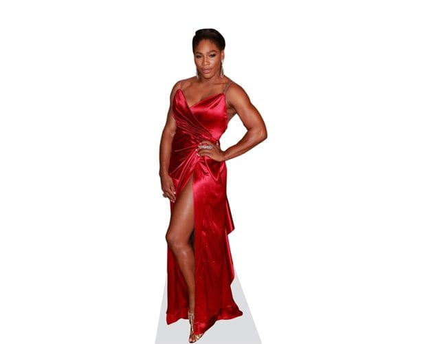 Serena Williams cutout