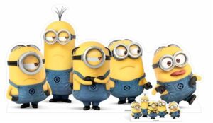 Group Minions cutout