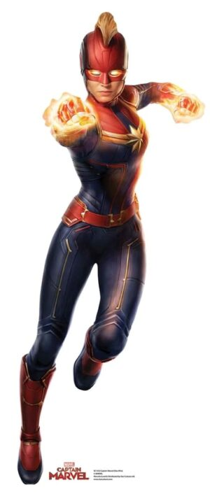 Captain Marvel cutout