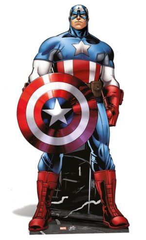 Captain America cutout