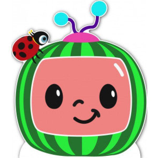 Melon cardboard cutout